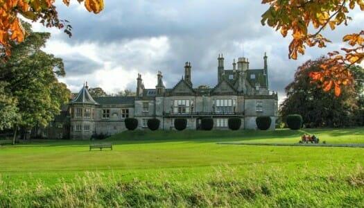 El castillo de Lauriston y el jardín japonés de Edimburgo