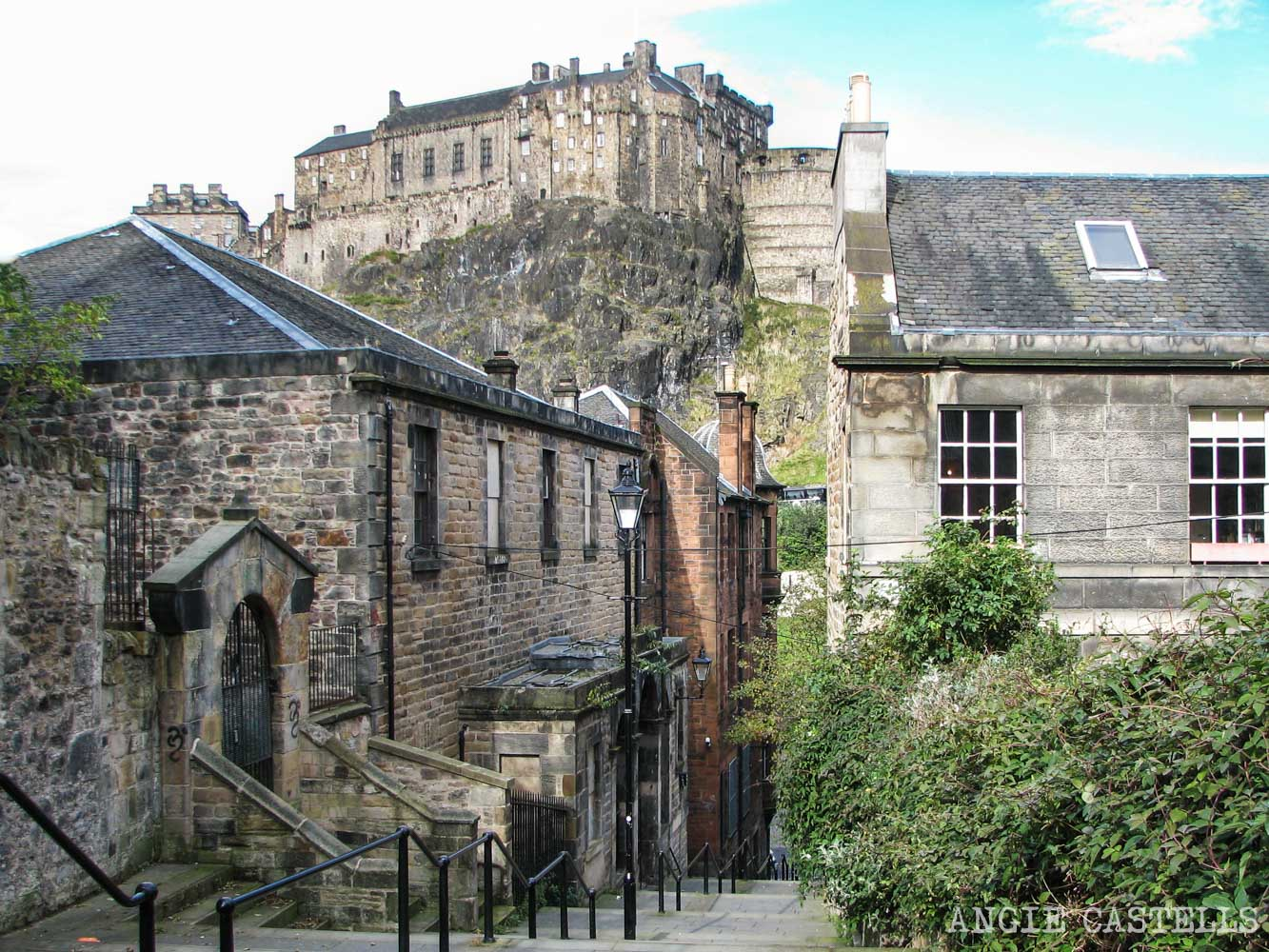 Las murallas de Edimburgo Old Town The Vennel