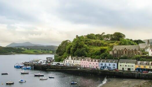 Visitar Portree, en la isla de Skye