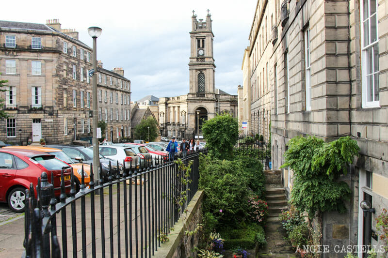 Guia barrio Stockbridge Edimburgo St Stephen Church