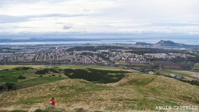 Ruta Pentlands Edimburgo Senderismo Capital View