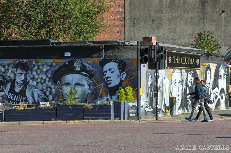 Mejores murales Glasgow arte urbano The Clutha