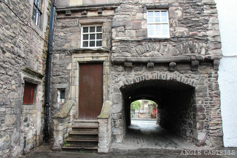 Escenarios de Outlander Edimburgo Bakehouse Close Royal Mile 2