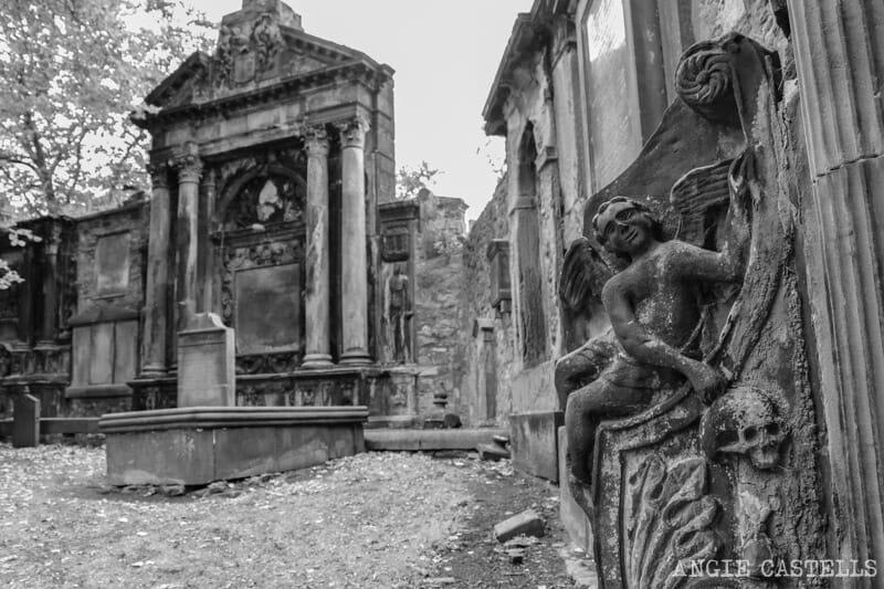 Tours del miedo Edimburgo cementerio Greyfriars