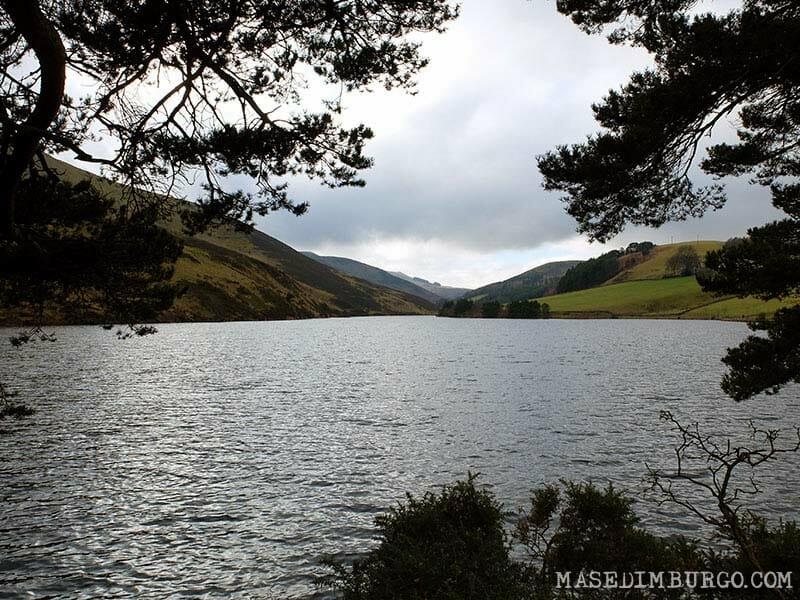 Ruta Pentlands Edimburgo Senderismo Glencorse Reservoir 2