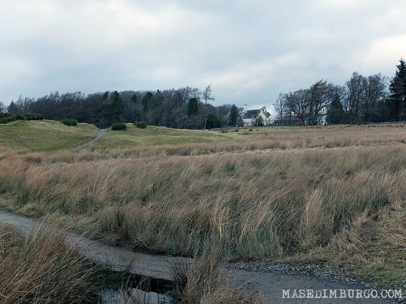 Ruta Pentlands Edimburgo Senderismo Bavelaw Castle