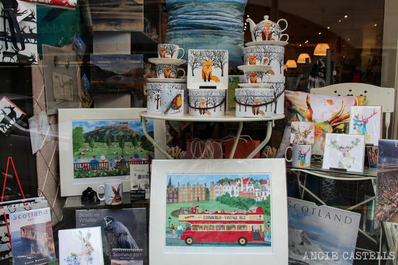 Mejores tiendas Edimburgo regalos originales