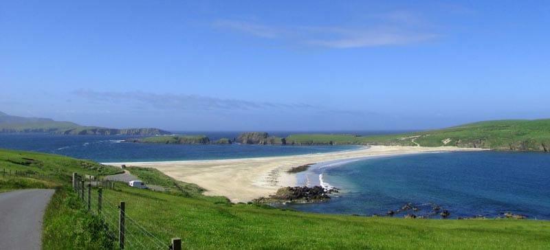 La isla de St Ninians, en las islas Shetland. Britt-Marie Sohlström (CC)
