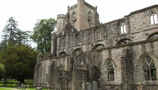 El pueblecito de Dunkeld y su catedral, en Escocia