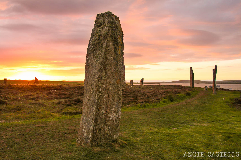 Que ver Orkney Islas Orcadas Ring of Brodgar 1500