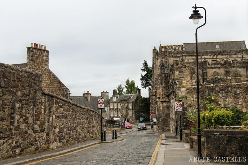 Guia Stirling que ver iglesia Holy Rude