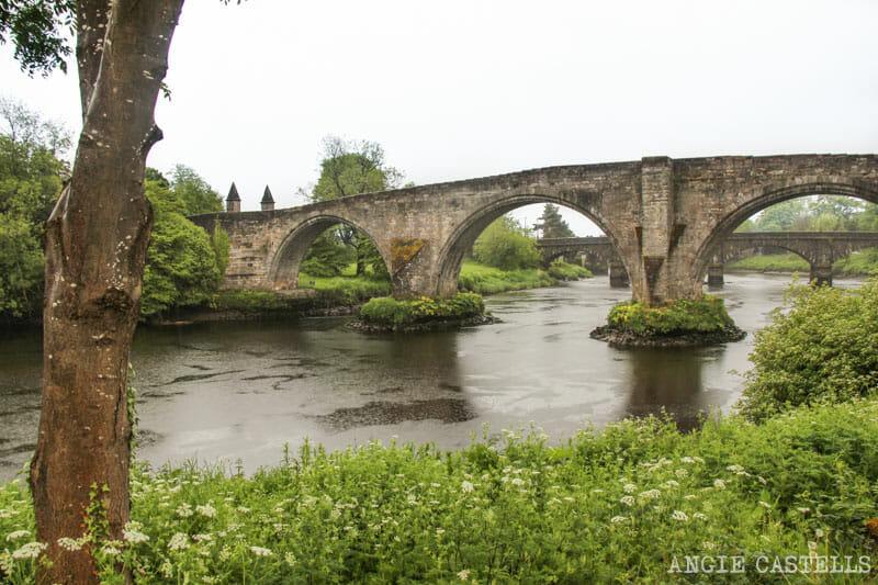 Guia Stirling que ver puente Old Stirling Bridge