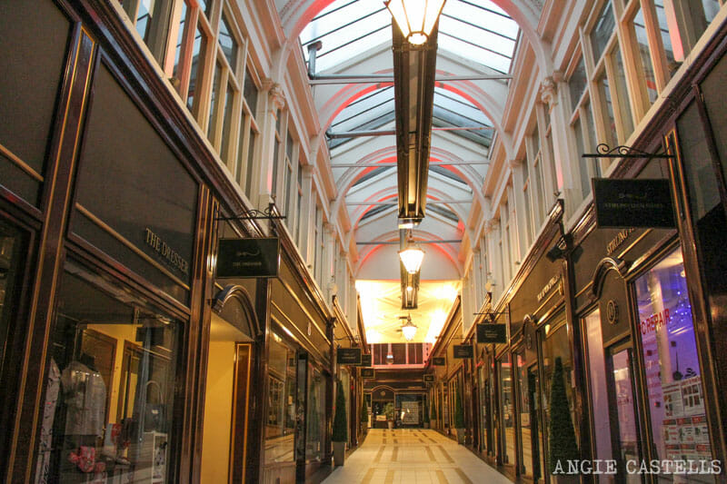Guia Stirling que ver Stirling Arcade