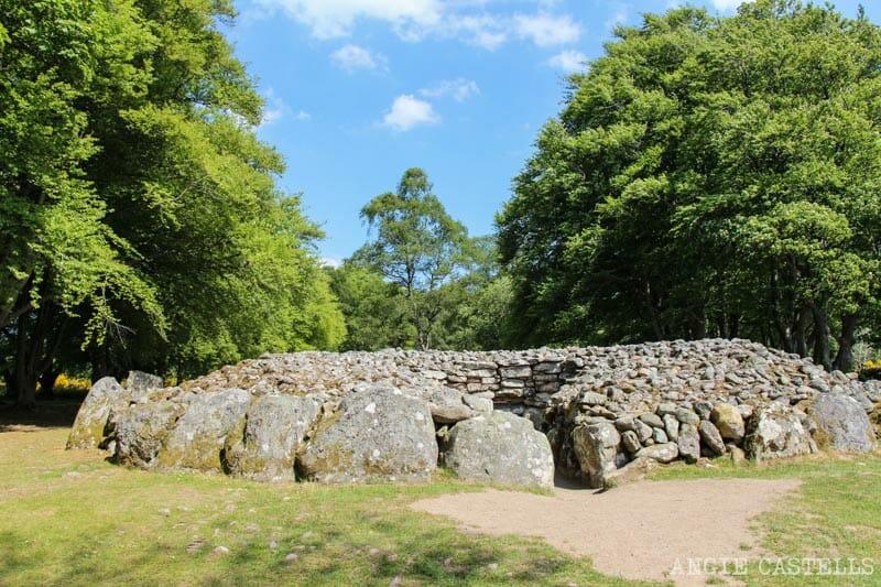 Visitar Clava Cairns Inverness Escocia