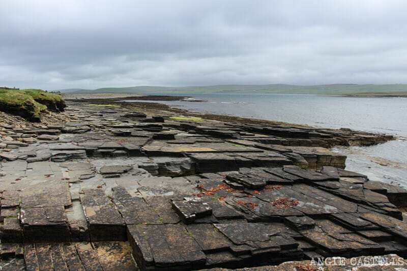 Ruta islas Orcadas Isla de Rousay Midhope Broch and Cairn